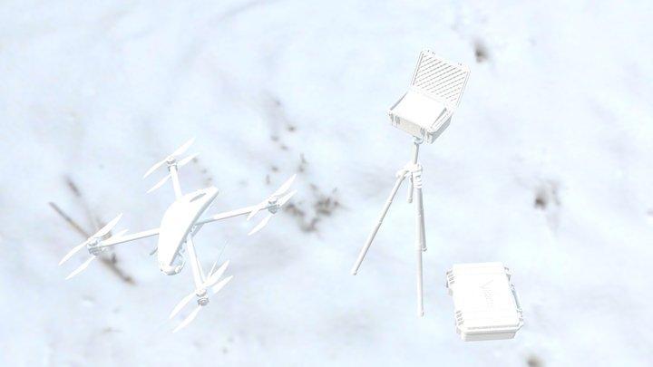 Horus Dynamics - Micro Ground Station 3D Model
