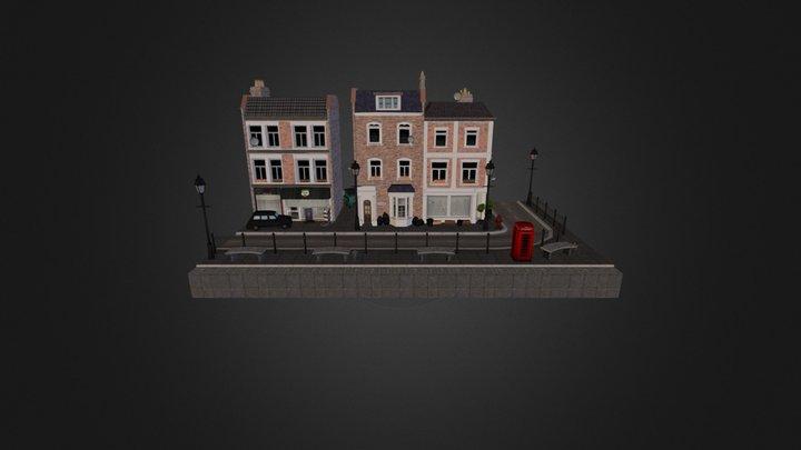 Cityscene : London 3D Model