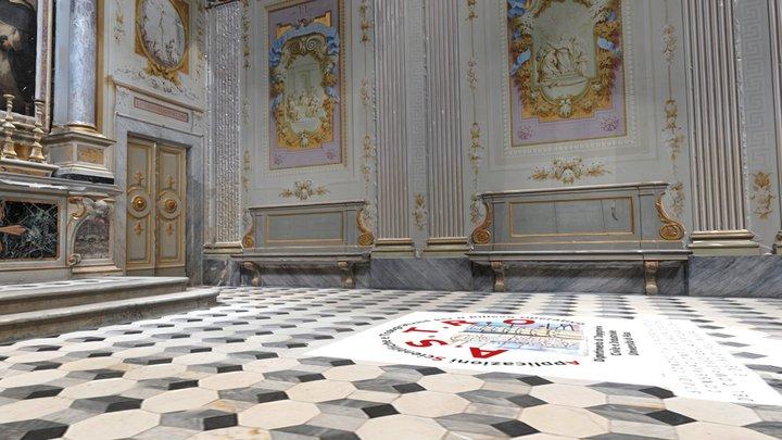Certosa di Calci - Cappella Rosario 3D Model
