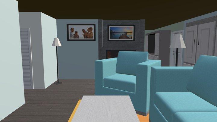 Tornado House 3D Model