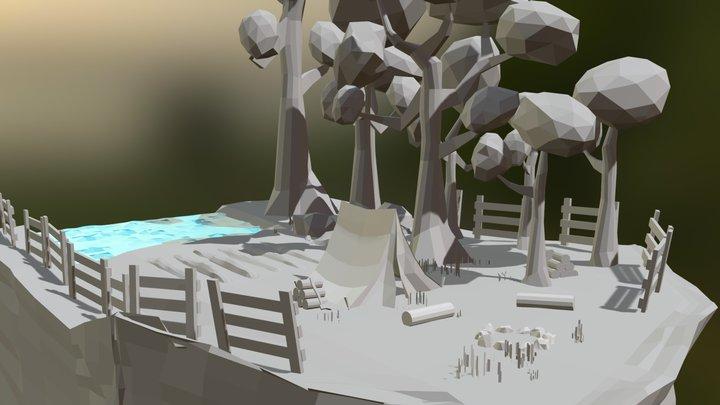 Environment testing 3D Model