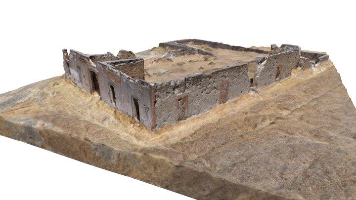 Ex hacienda San Manuel 3D Model