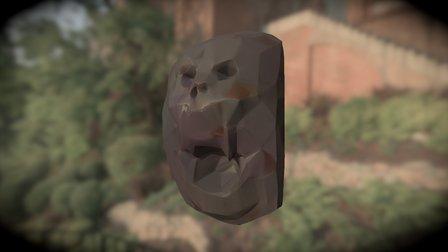 Skull stone 3D Model