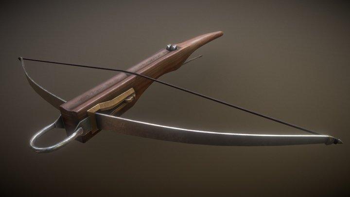 crossbow amaury scheen 3D Model