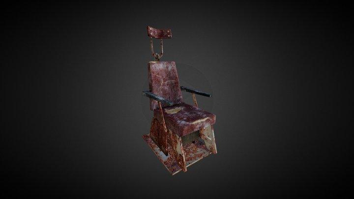 Chair Lowpoly 3D Model
