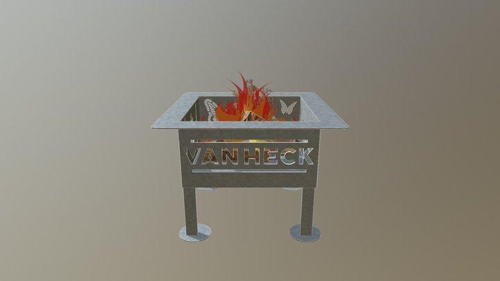 Van Heck Firepit 3D Model