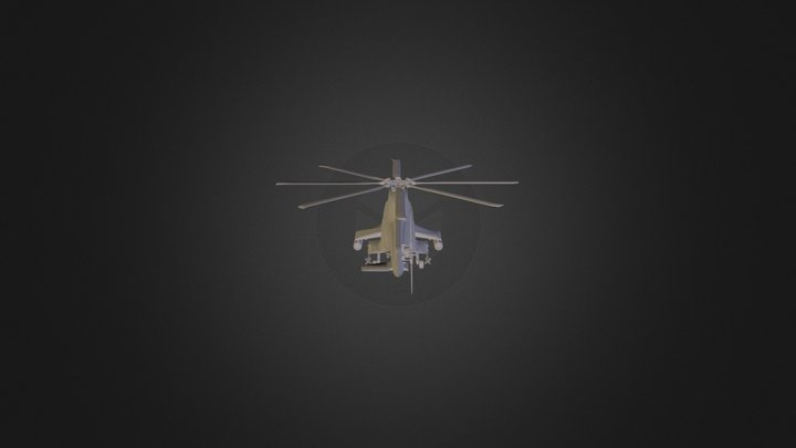 Helicopter1 3D Model