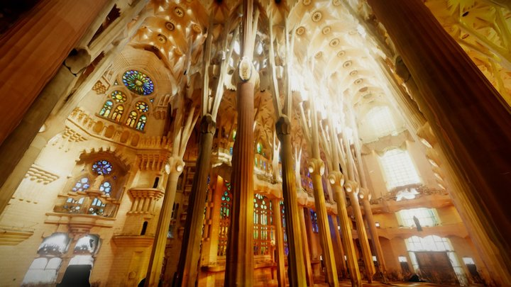 Sagrada Família: Interior 3D Model