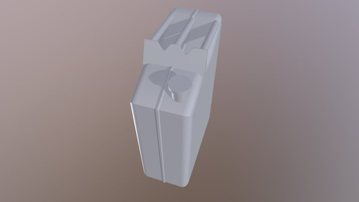 Gas Can 3D Model