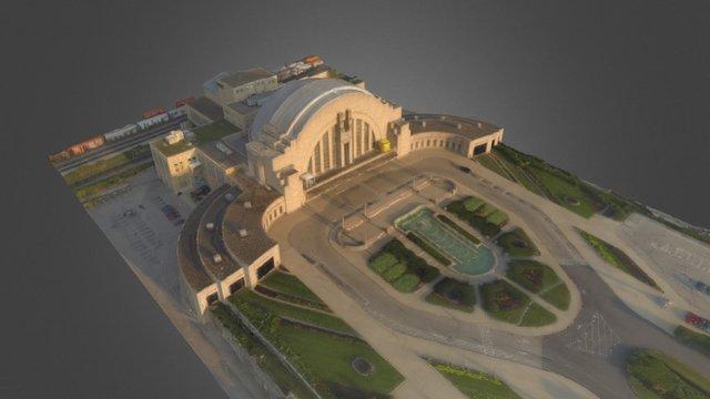Union Terminal 3D Model