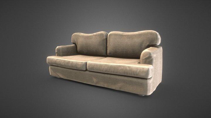 Regular Sofa 3D Model