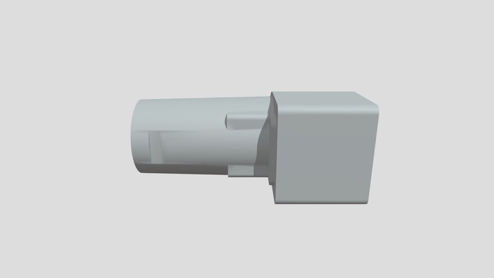 Makita to Hitachi cleaner head Connector 3D Model