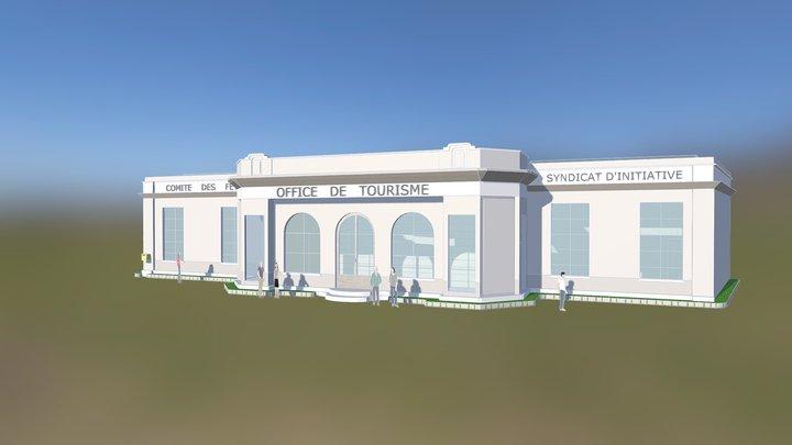 L'ancien pavillon du tourisme d'Aix-en-Provence 3D Model