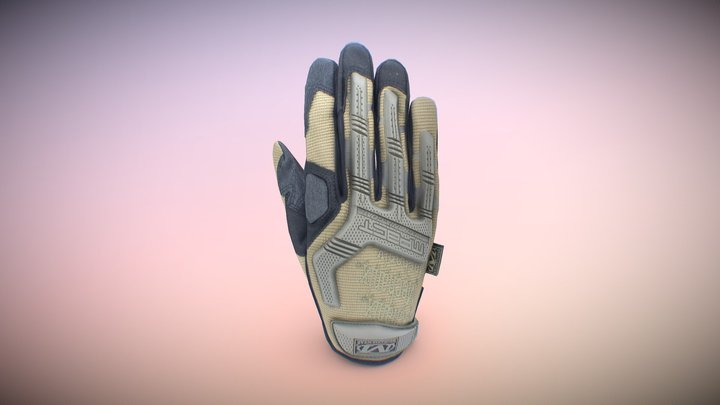 Mechanix Gloves (Downloadable) 3D Model