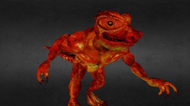 Mantilian 3D Model