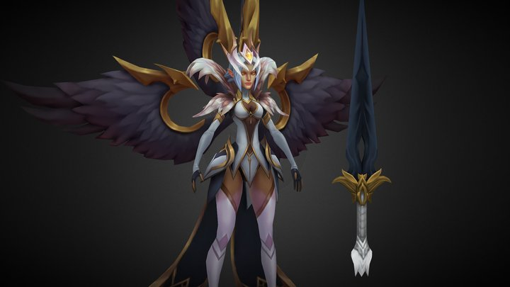 Skintober 2020 Day 11: Coven Kayle 3D Model