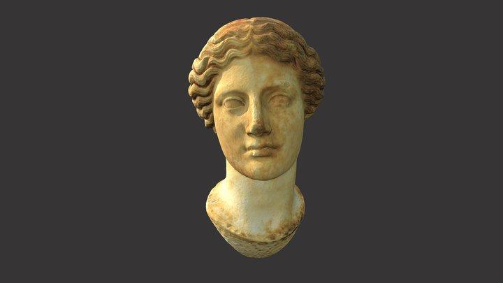 Portret žene/Female portrait (Livija?) 3D Model