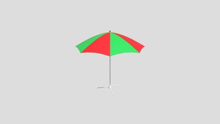 Beach Umbrella 0000 3D Model