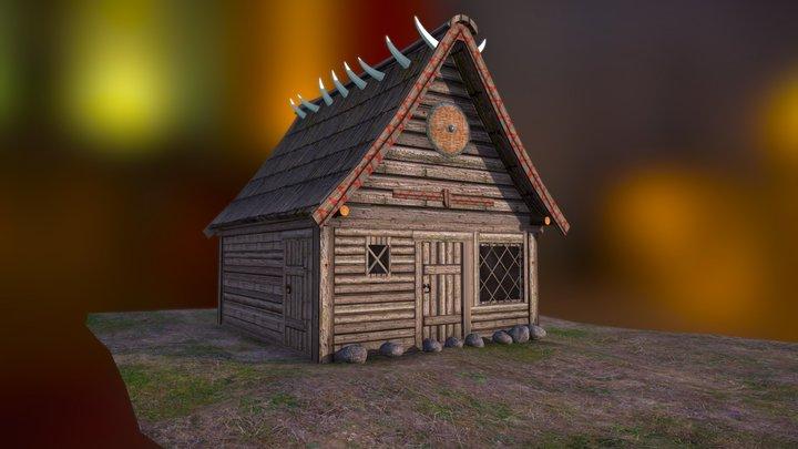 Vikinghouse - School project 3D Model