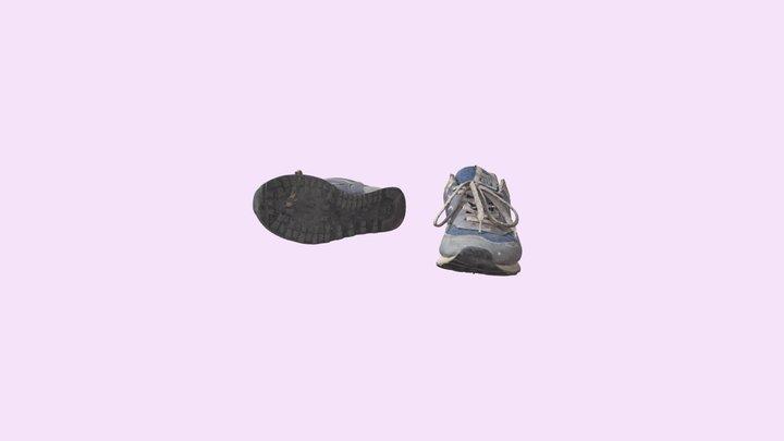 Macro Shoes 3D Model