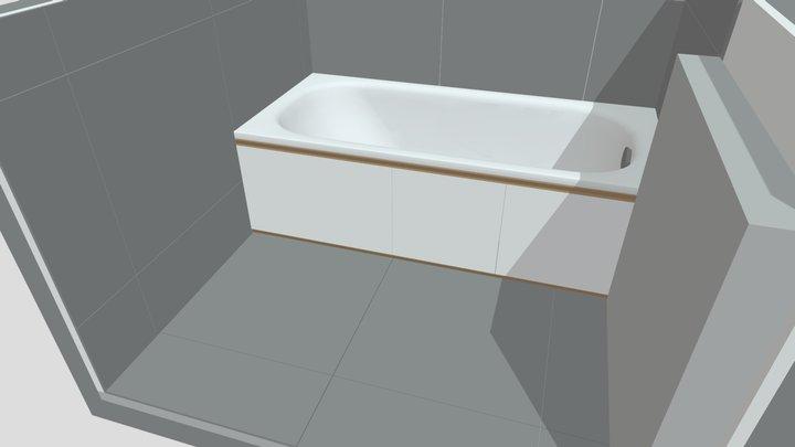 bathtub - temp 3D Model
