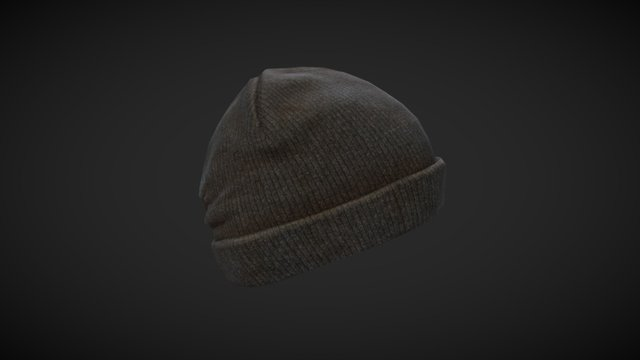 Winter Hat 3D Model
