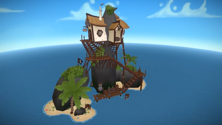 The Bounty Booze Brewery 3D Model