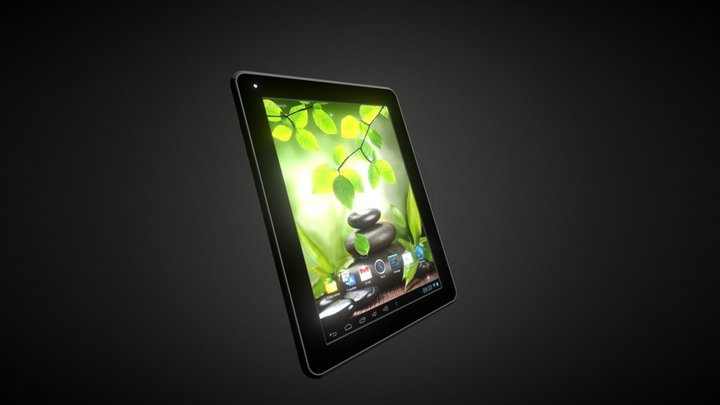 Android Tablet 3D Model
