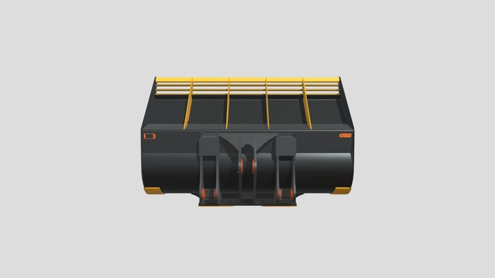 4. Loader Moderate Abrasion 3D Model