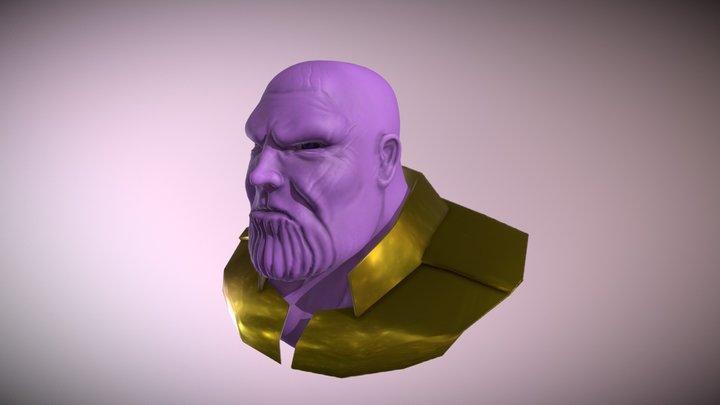 Thanos Animation 3D Model