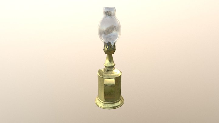 "The ""Corbeau"" Lamp 3D Model"
