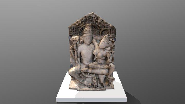 Shiva and Parvati 3D Model