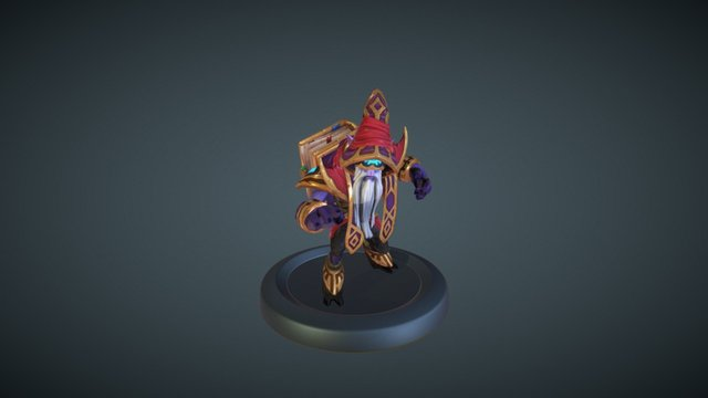 Dark Seer - Imperious Tactician 3D Model