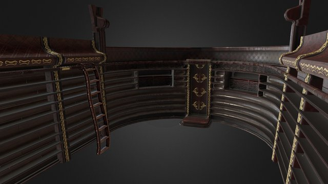 WizardsBookCase 3D Model