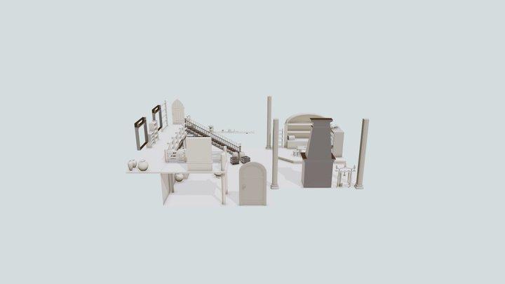 Crosp's Office 3D Model