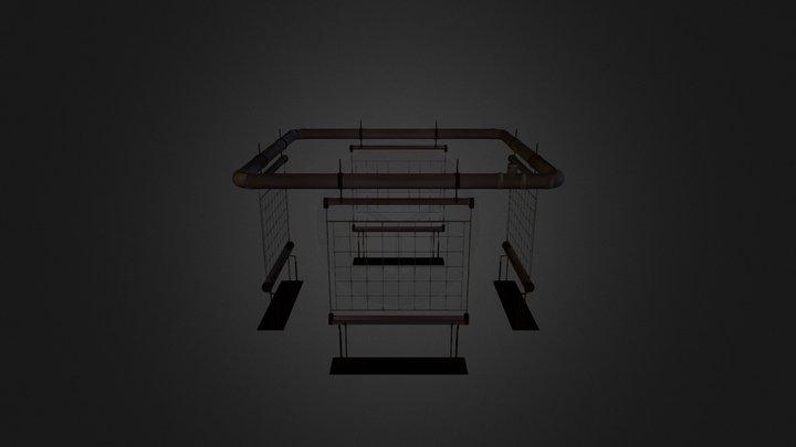 Stargate:Universe - Plant Grids - Empty 3D Model