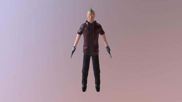 CASPR Character 3D Model