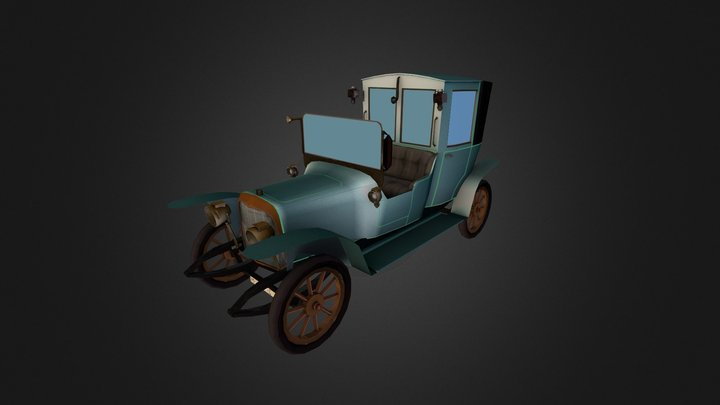 Classic Vehicle 3D Model