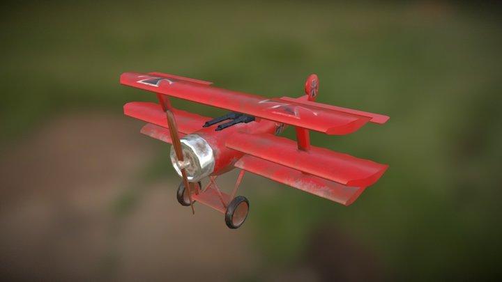 Fokker Dr 1 3D Model