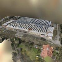 MidRes_partial Facility Building 3D Model