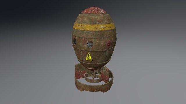 Fallout 4 - Mini Nuke 3D Model