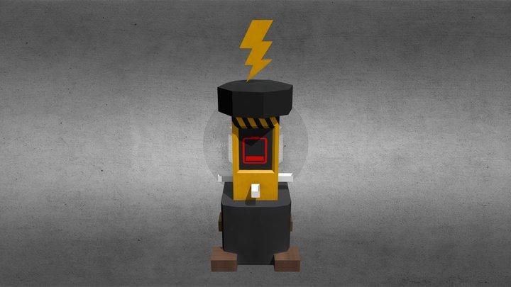 Charging Station 3D Model