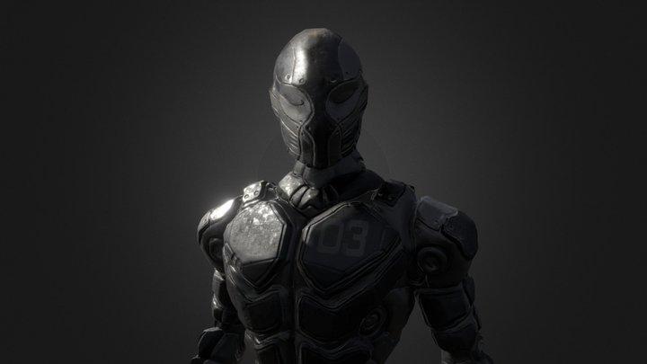 Alien Suit 3D Model