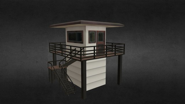 Tower All 3D Model