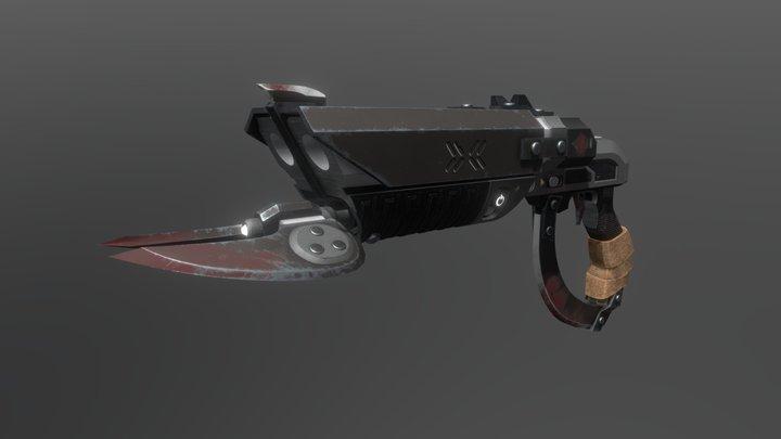 Halo Banished Brutehook Shotgun 3D Model