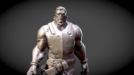 Jon T. Munro 3D Model