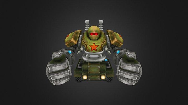 Blitztank - Polycount Riot Art Contest 2014 3D Model