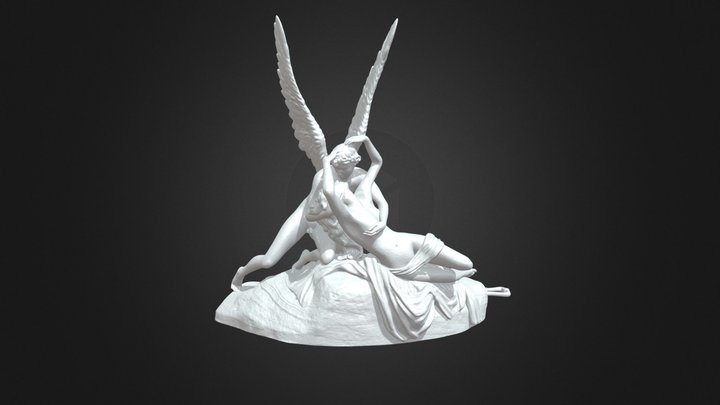 3D Printable Psyche Revived By Cupid 3D Model