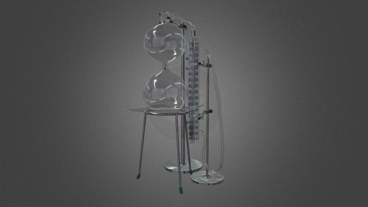 distillation apparatus 3D Model