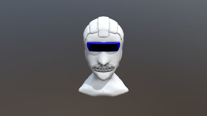 Some Cyberpunk Guy WIP 3D Model